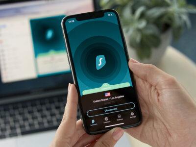 De SurfsharkVPN iOS app